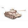Puzzle eco wood art Tank T-34 600 Teile